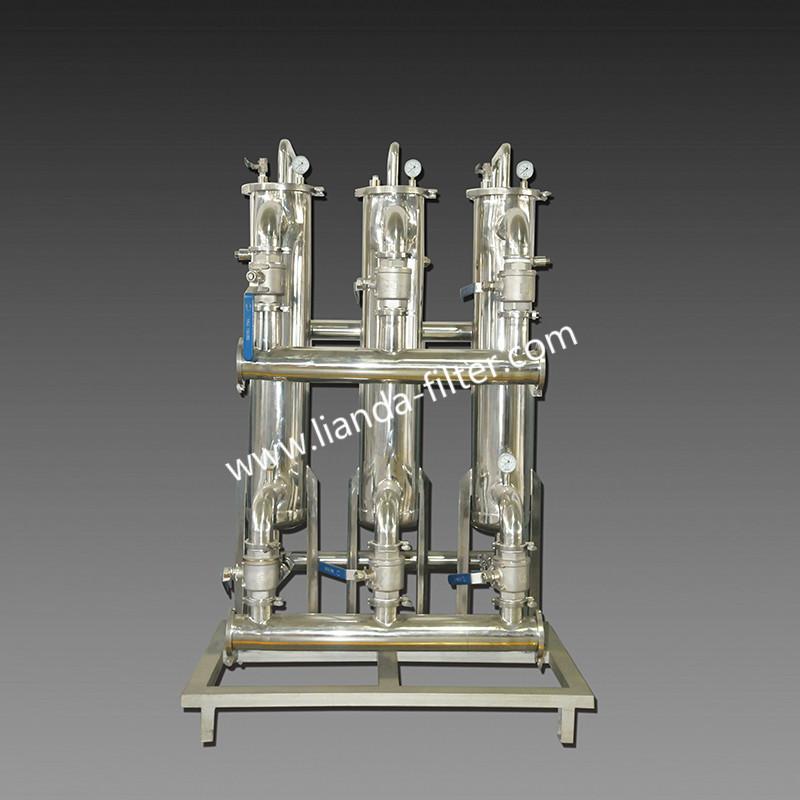 多聯筒式反沖洗過濾器