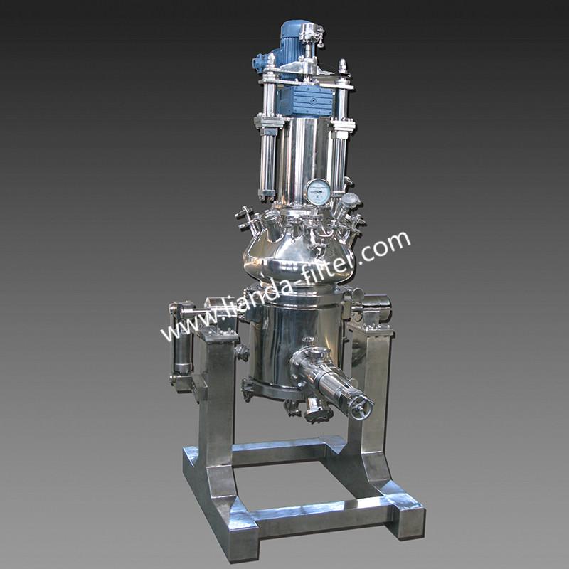 傾斜式流化床多功能過濾、洗滌、干燥機(無菌級)